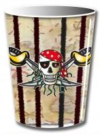 8 Sebastian Säbel Piraten Pappbecher 250ml
