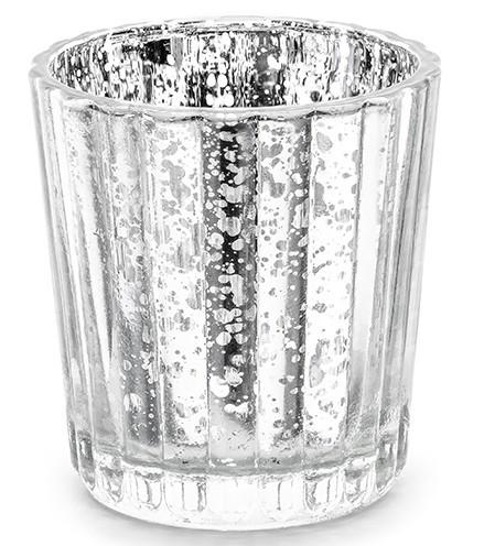 4 faroles Marsella plata 5,5 x 6 cm