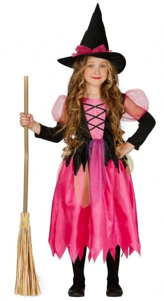 Hexenkostüm Pink Lady Für Mädchen
