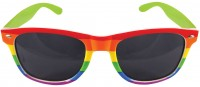 Rainbow Stripes Sonnenbrille