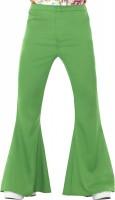 Grüne 70er Jahre Schlaghose Für Herren