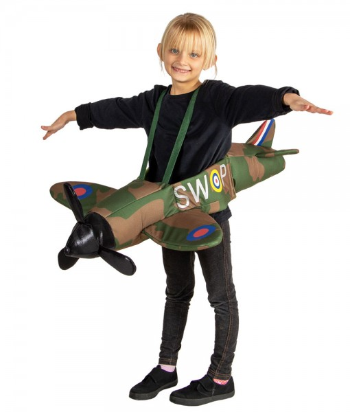 Spitfire Flieger Kostüm für Kinder