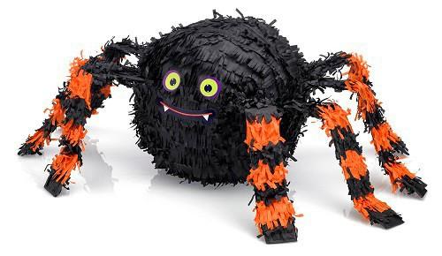 Piñata araña Happy Halloween