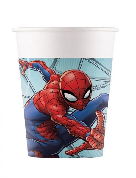 8 Spiderman Team Up Becher 200ml