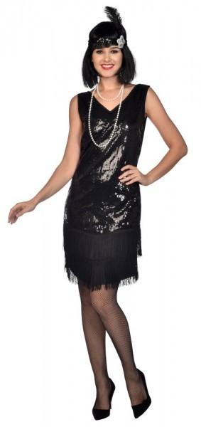 Disfraz vestido de charlestón años 20 para mujer