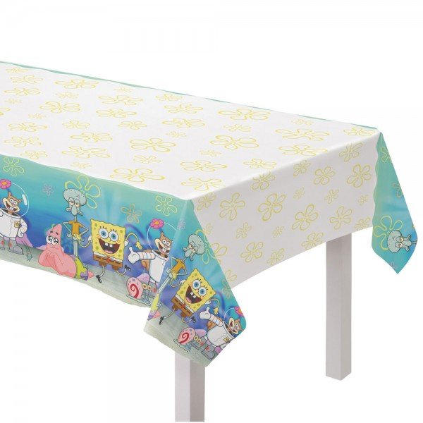 Spongebob Party Tischdecke 2,6m