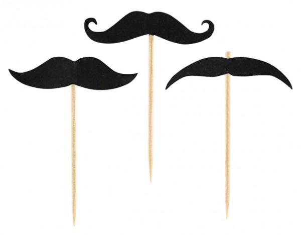 20 jolis cueilleurs de moustache