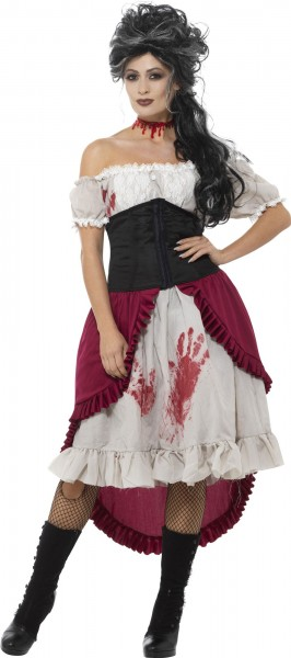 Bloody Saloonkelid Carmen blouse ladies costume