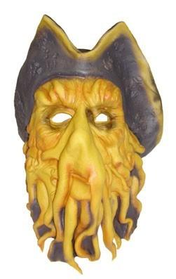 Horror Tentakelpirat Maske