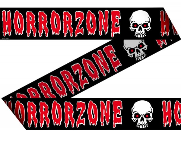 Horrorzone Absperrband 15m