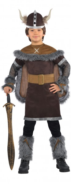Viking warrior child costume classic