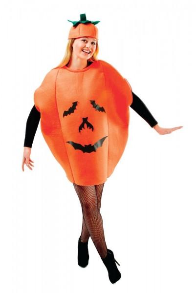 Bat-Pumpkin Smiley Damenkostüm