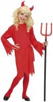 Halloween Kostüm Teufel Rot Für Kinder