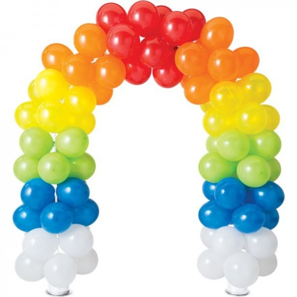 Ballonbogen Shiny Rainbow 2,26 x 2,51m