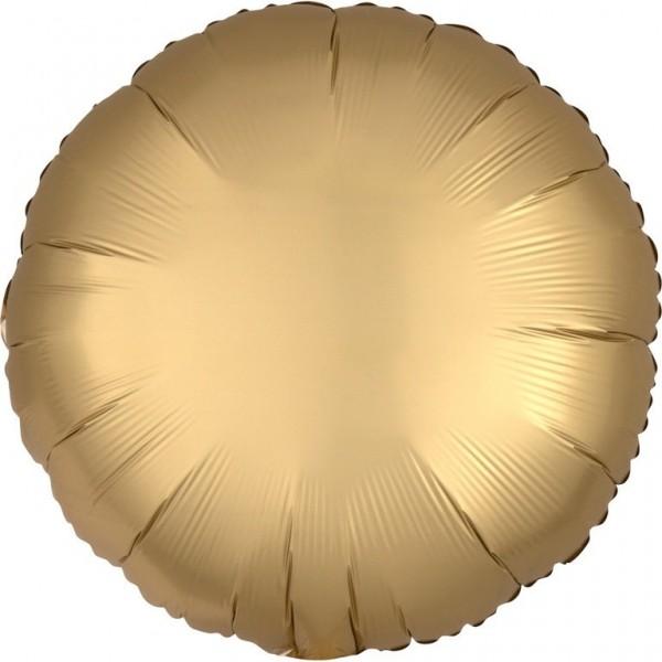 Folie ballon Luxe Gold satin look