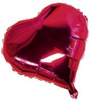 Valentinstagsherz Folienballon 10cm
