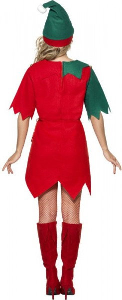 Elfi Christmas Gnome Costume For Ladies