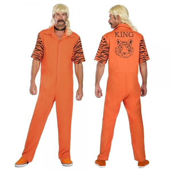 Combinaison Prison Costume Tiger Joe