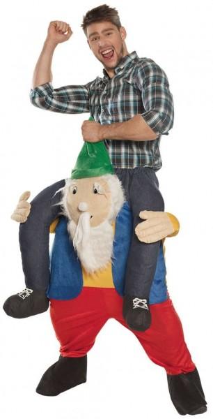 Piggyback dwarf Willi costume