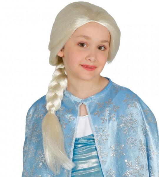 Eis Prinzessin Kinderperücke