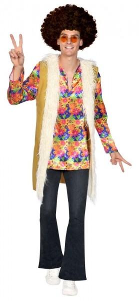 Costume homme hippie des années 70 Pete