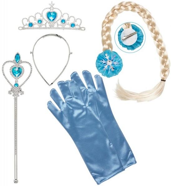 Eisblaues Prinzessinnen Set