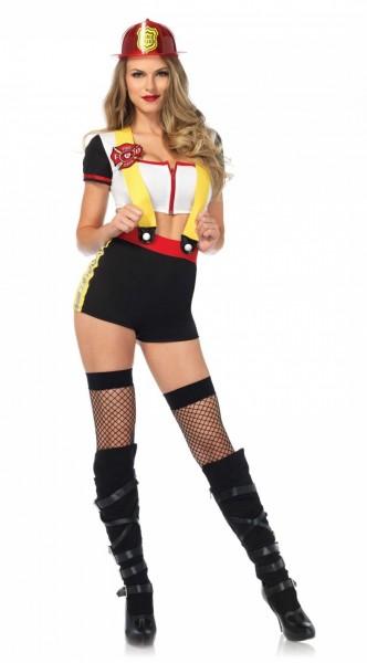 Sexy brandweerman Frances dames kostuum