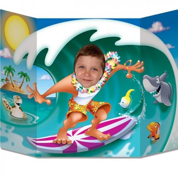 Fotomural King of Waves Surfer 64cm