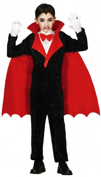 Vampirgraf Victor Kostüm Für Kinder
