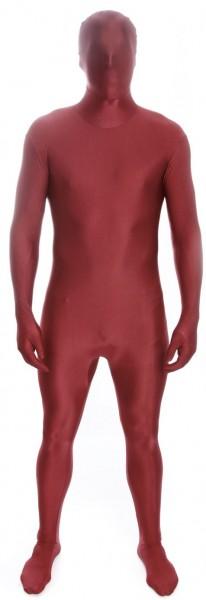 Rot-Brauner Morphsuit Second Skin
