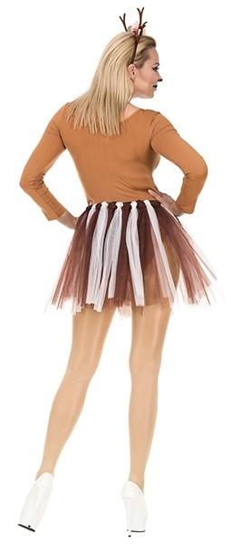 Rendier kostuum set voor vrouwen 2-delig