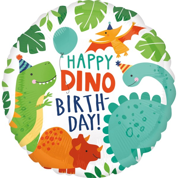 Balon foliowy Dino Mania 45 cm