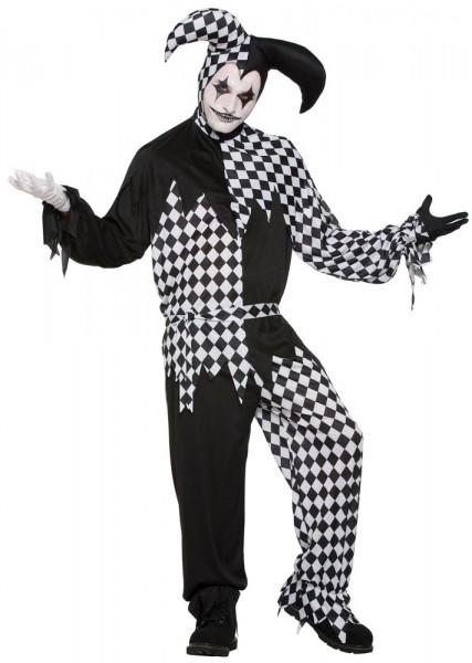 Harlequin Clown Narren Herrenkostüm