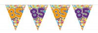 Groovy 85th Birthday Wimpelkette 3m