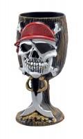Totenkopf Piraten Kelch Roger