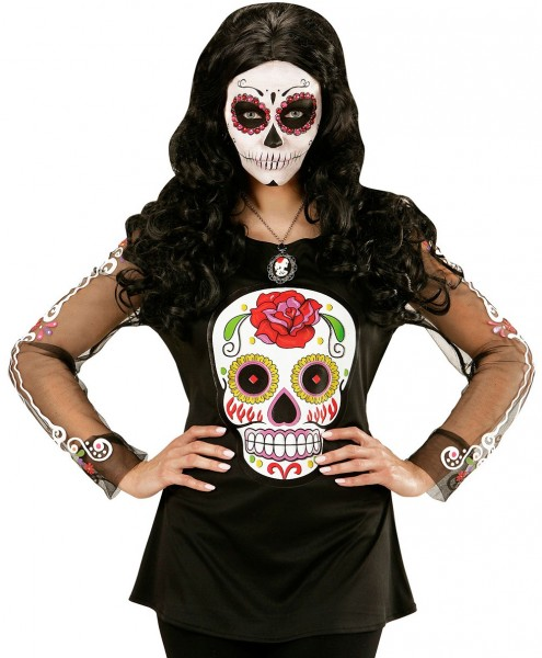Dia De Los Muertos Calavera Shirt for women