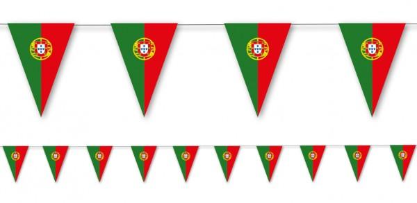 Catena gagliardetto di carta del Portogallo 3,5 mx 19 cm