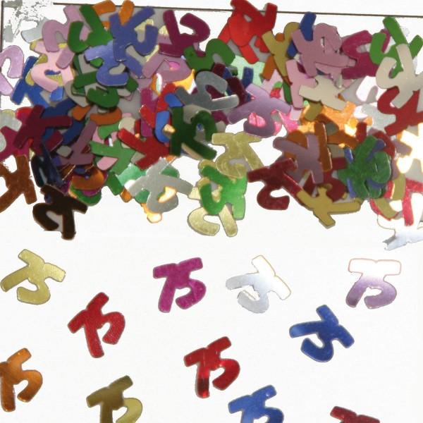 Colorful table confetti 75