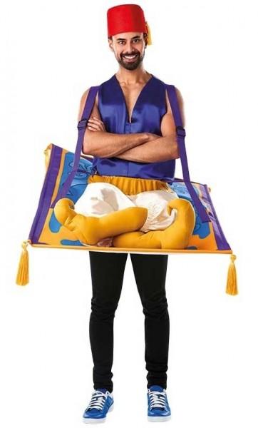 Aladdin auf Teppich Herrenkostüm