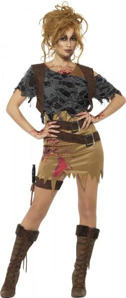 Zombiejägerin Michelle Damenkostüm