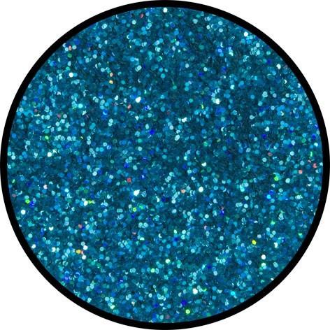 Blaues Streuglitzer Für Funkelnde Partynächte