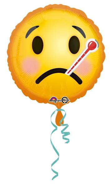 Folienballon Gute Besserung Smiley
