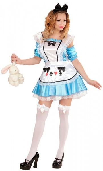 Alice aus dem Wunderwald Damenkostüm