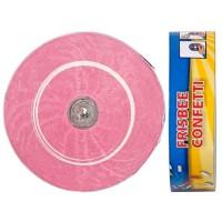 2 Frisbee-Konfetti in Hellrosa