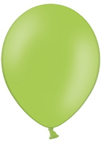 50 party star balloons apple green 27cm