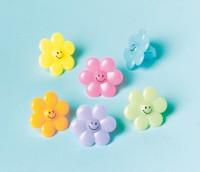 Süße Blumen Ringe Für Geschenktüten Bunt 24 Stück