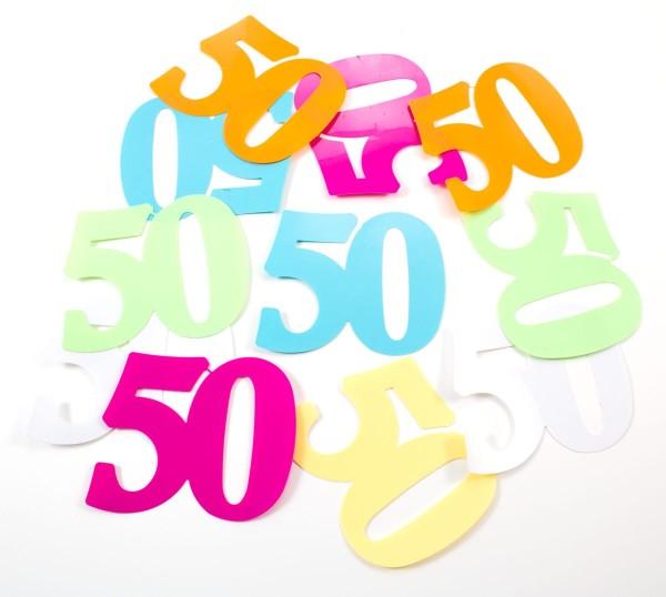 Dekoracja rozproszona XL numer 50 w kolorze