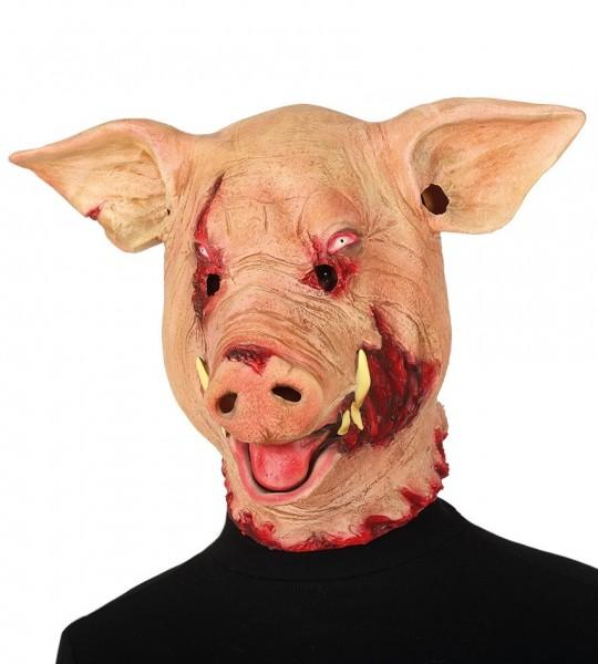 Zombie Schwein Maske