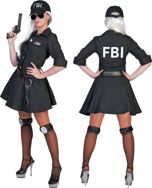 Agent Hastings FBI Damenkostüm