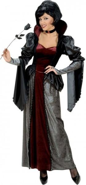 Gruselige Samt-Frau Halloweenkostüm